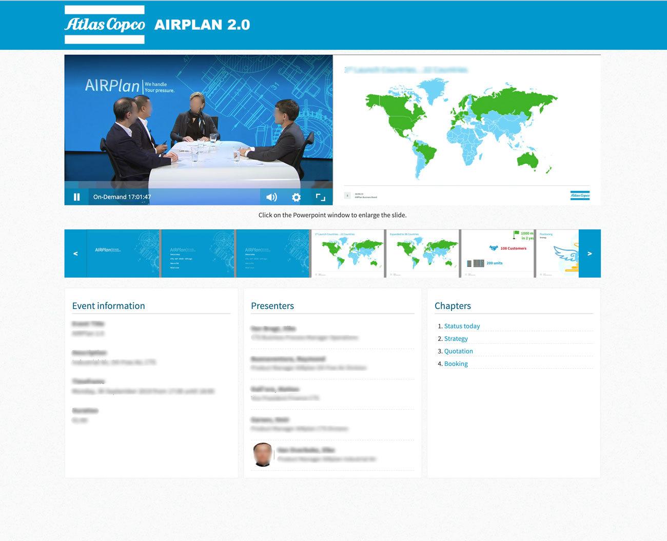 Atlascopco streamovations interactive webinar